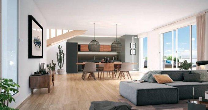 Achat / Vente appartement neuf Asnières-sur-Seine à 150 mètres station de métro « Gabriel Péri » (92600) - Réf. 3555