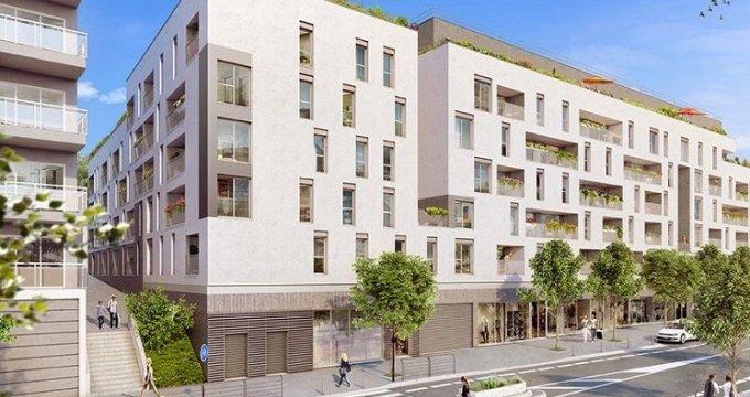 Achat / Vente appartement neuf Bagnolet proche centre-ville (93170) - Réf. 1807