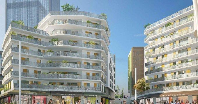 Achat / Vente appartement neuf Bagnolet proche Mairie (93170) - Réf. 1897