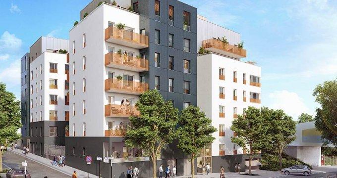 Achat / Vente appartement neuf Bobigny proche Paris (93000) - Réf. 1848