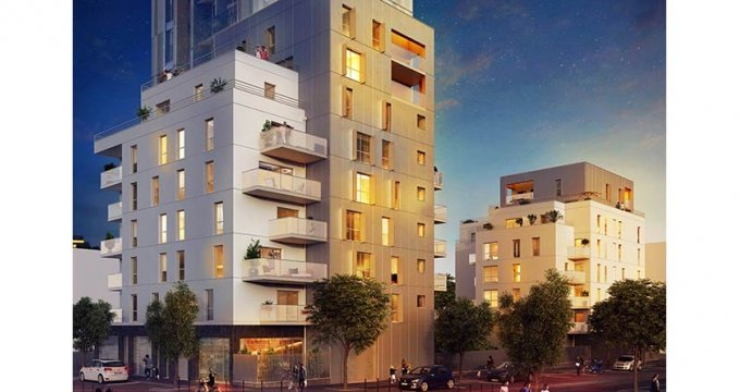 Achat / Vente appartement neuf Bobigny proche Paris (93000) - Réf. 1847