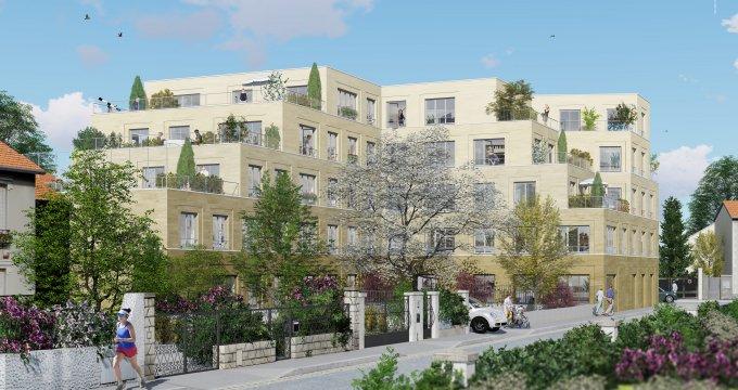 Achat / Vente appartement neuf Bondy proche futur métro ligne 15 (93140) - Réf. 3517