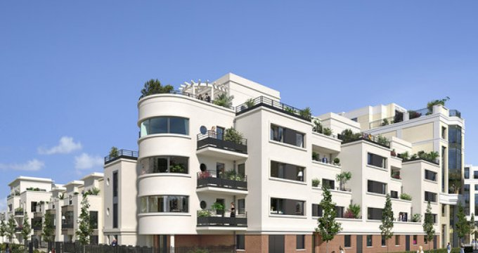 Achat / Vente appartement neuf Chessy proche RER A (77700) - Réf. 2934