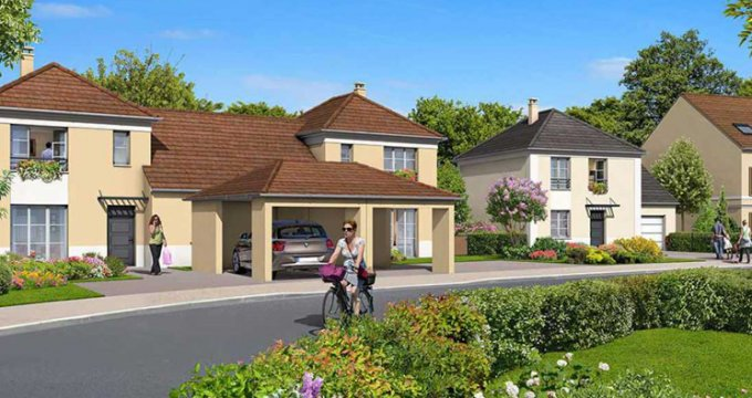 Achat / Vente appartement neuf Chevry-Cossigny proche forêt d'Armainvilliers (77173) - Réf. 2544