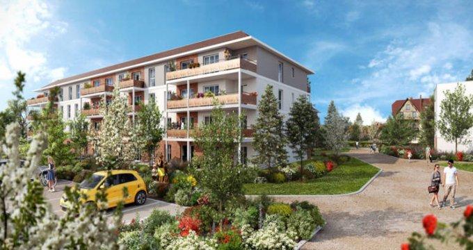 Achat / Vente appartement neuf Dammarie-les-Lys au coeur du parc du Manoir (77190) - Réf. 5692