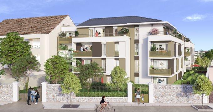 Achat / Vente appartement neuf Dammarie-lès-Lys proche gare de Melun (77190) - Réf. 3265