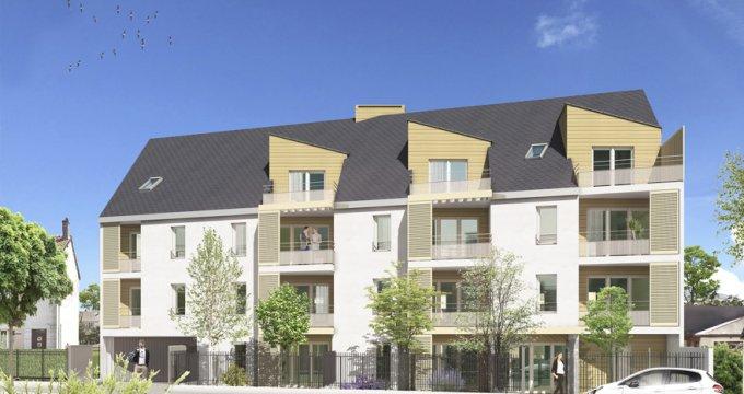 Achat / Vente appartement neuf Gretz-Armainvilliers proche RER E (77220) - Réf. 3212