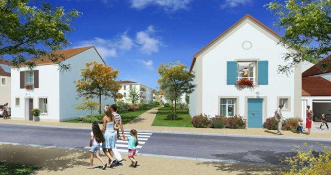 Achat / Vente appartement neuf Guibeville proche d'Arpajon (91630) - Réf. 1690