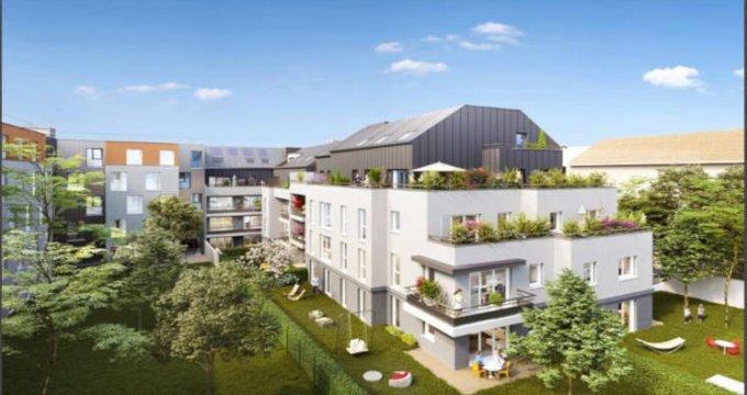 Achat / Vente appartement neuf Guyancourt proche étang des Roussières (78280) - Réf. 2738