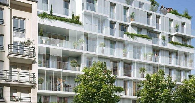 Achat / Vente appartement neuf Issy-les-Moulineaux hauteurs (92130) - Réf. 830