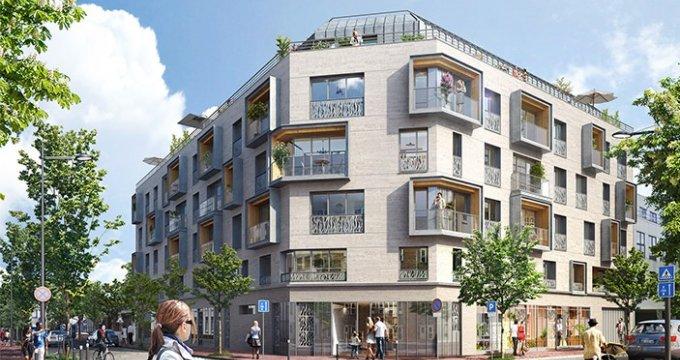 Achat / Vente appartement neuf Issy-les-Moulineaux proche centre-ville (92130) - Réf. 787