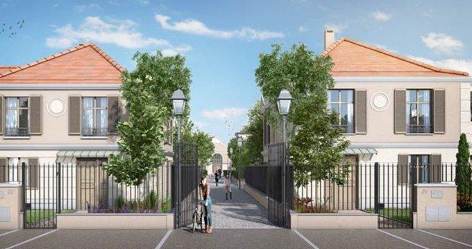 Achat / Vente appartement neuf L'Isle-Adam proche centre-ville (95290) - Réf. 1771