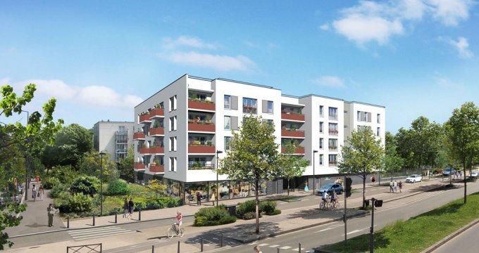 Achat / Vente appartement neuf Les Mureaux à l'entrée du Pôle Molière (78130) - Réf. 1608