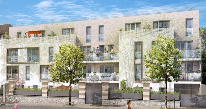 Achat / Vente appartement neuf Les Pavillons-sous-Bois à 700 mètres du Transilien (93320) - Réf. 4421