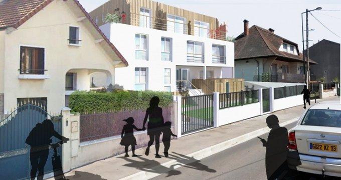 Achat / Vente appartement neuf Les Pavillons-sous-Bois proche tramway 4 (93320) - Réf. 4925