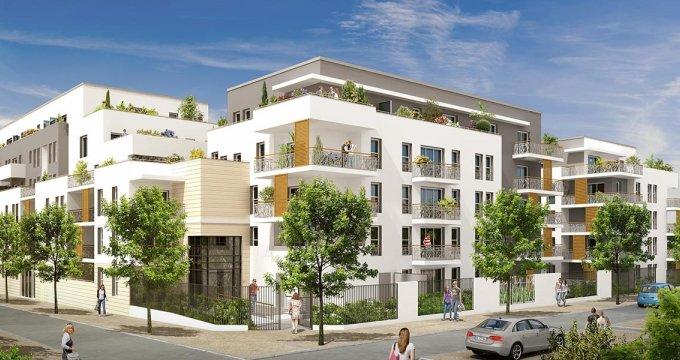 Achat / Vente appartement neuf Meaux proche parc Chenonceau (77100) - Réf. 2070