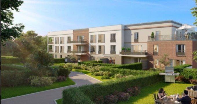 Achat / Vente appartement neuf Nanteuil-lès-Meaux proche centre-ville (77100) - Réf. 3082