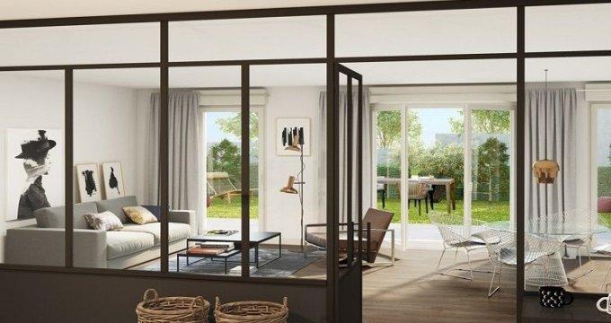 Achat / Vente appartement neuf Nogent-sur-Marne proche centre-ville et RER A et E (94130) - Réf. 1705