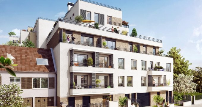 Achat / Vente appartement neuf Noisy-le-Sec quartier pavillonnaire (93130) - Réf. 2619