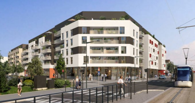 Achat / Vente appartement neuf Pierrefitte-sur-Seine proche centre (93380) - Réf. 3777