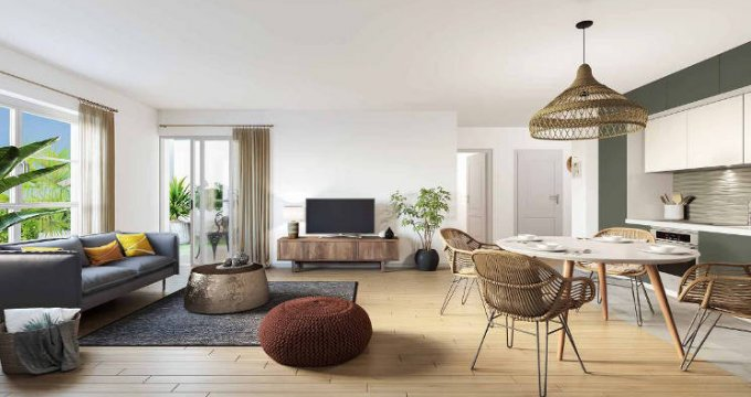 Achat / Vente appartement neuf Pontault-Combault proche commodités (77340) - Réf. 4402