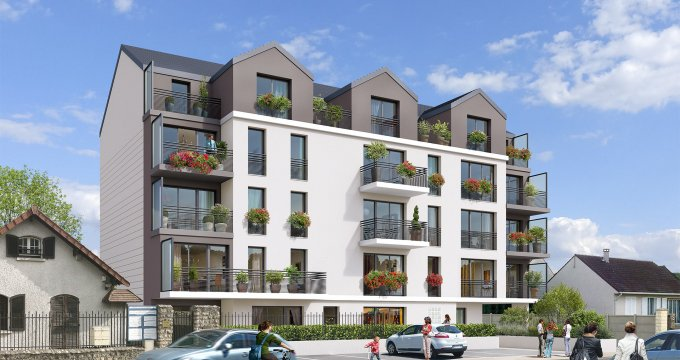 Appartement neuf quincy sous s nart proche gare rer d for Achat appartement neuf idf