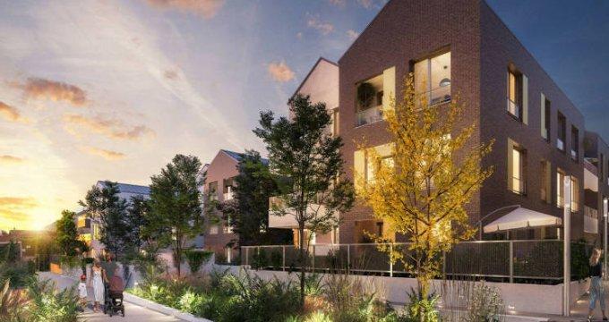 Achat / Vente appartement neuf Romainville à deux pas des transports (93230) - Réf. 4746