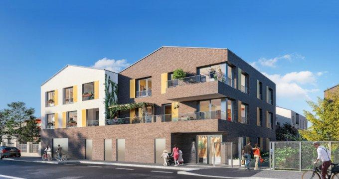 Achat / Vente appartement neuf Romainville proche future station de tramway T1 (93230) - Réf. 5045