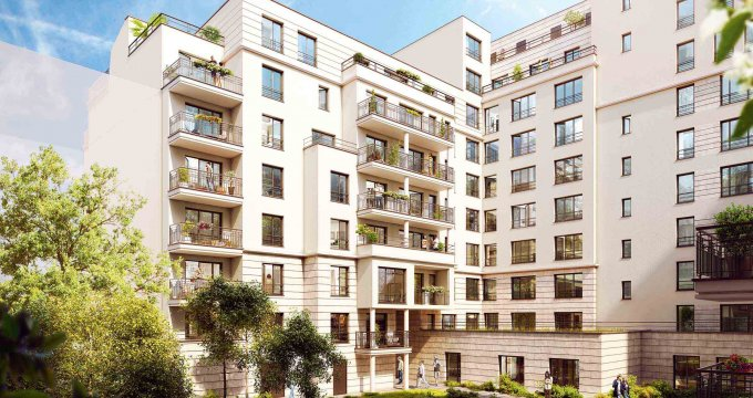 Appartement neuf suresnes co quartier 92150 r f 1363 for Achat appartement atypique ile de france