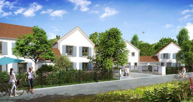 Achat / Vente appartement neuf Villeneuve-le-Comte proche Disneyland et Val d'Europe (77174) - Réf. 1746