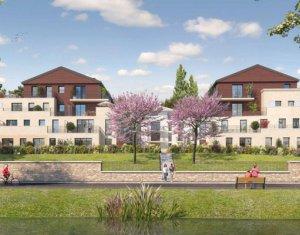 Achat / Vente appartement neuf Andrésy proche du bois de l'Hautil (78570) - Réf. 2489