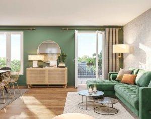 Investissement locatif : Appartement en loi Pinel  Antony quartier Bois de l'Aurore (92160) - Réf. 5432