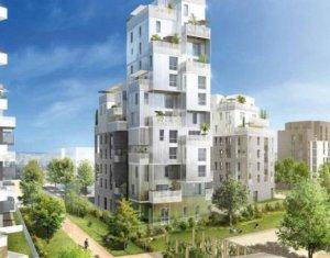 Achat / Vente appartement neuf Asnières-sur-Seine face au parc (92600) - Réf. 98