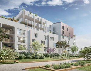 Achat / Vente appartement neuf Aubervilliers à 350 m d'un pôle multimodal (93300) - Réf. 5970