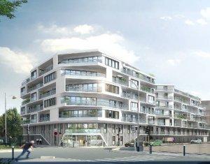 Achat / Vente appartement neuf Aubervilliers à deux pas du canal (93300) - Réf. 3878