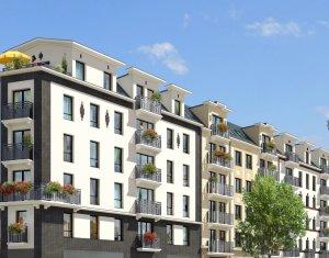 Achat / Vente appartement neuf Aubervilliers proche des transports (93300) - Réf. 273