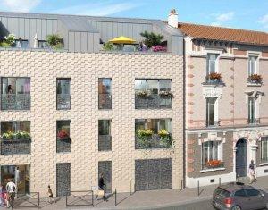 Achat / Vente appartement neuf Aubervilliers proche mairie (93300) - Réf. 863