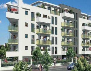 Achat / Vente appartement neuf Aulnay-sous-Bois proche parc de Sausset (93600) - Réf. 3263
