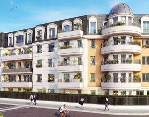 Investissement locatif : Appartement en loi Pinel  Aulnay-sous-Bois quartier Moulin Neuf Roseraie (93600) - Réf. 1839