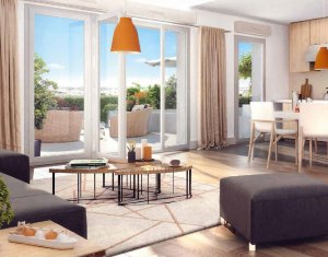 Achat / Vente appartement neuf Bagnolet quartier Blanqui (93170) - Réf. 175