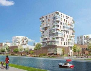 Achat / Vente appartement neuf Bobigny au bord du canal de l'Ourcq (93000) - Réf. 559