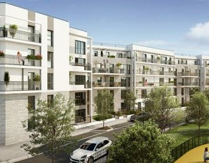 Investissement locatif : Appartement en loi Pinel  Bois-Colombes au coeur de l'écoquartier Pompidou Le Mignon (92270) - Réf. 5592