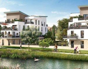Achat / Vente appartement neuf Bois-d'Arcy proche canal (78390) - Réf. 1796