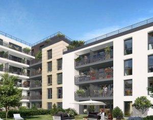 Achat / Vente appartement neuf Bondy au cœur du Saule Blanc (93140) - Réf. 3566