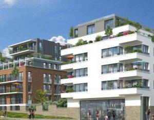 Investissement locatif : Appartement en loi Pinel  Bondy sur les bords du canal de l'Ourcq (93140) - Réf. 4262
