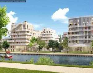 Investissement locatif : Appartement en loi Pinel  Bondy sur les rives du canal de l'Ourcq (93140) - Réf. 4041