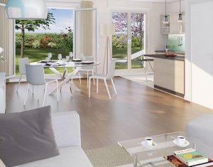 Investissement locatif : Appartement en loi Pinel  Bruyères-sur-Oise proche groupe scolaire (95820) - Réf. 3470