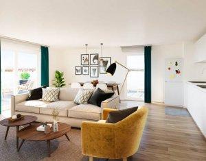 Investissement locatif : Appartement en loi Pinel  Cergy à 3 min du RER A (95000) - Réf. 5491