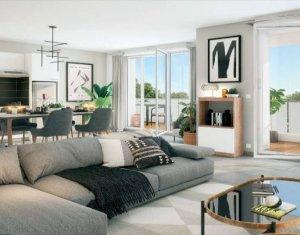 Achat / Vente appartement neuf Cesson à 700m du RER D (77240) - Réf. 5216
