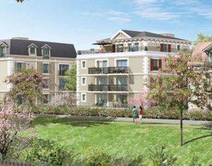 Achat / Vente appartement neuf Chelles proche gare Chelles-Gournay (77500) - Réf. 2302